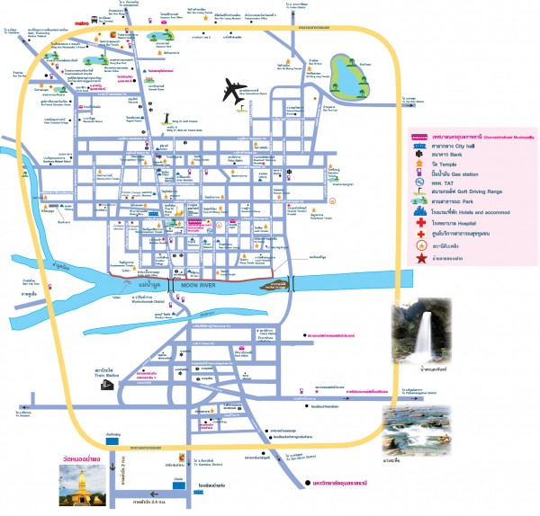 map ubon pahpong big